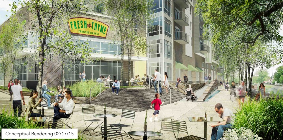 Browning Announces Lease with Fresh Thyme Farmers Market