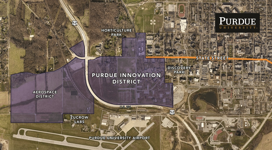 Purdue, Browning partner on $1 billion development district to transform west side of campus