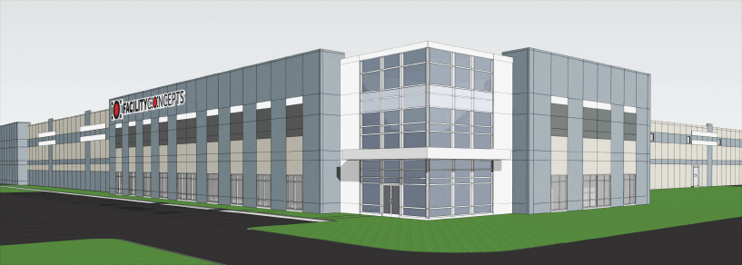Browning/Duke Realty Developing Build-to-Suit Warehouse for Facility Concepts in AllPoints at Anson
