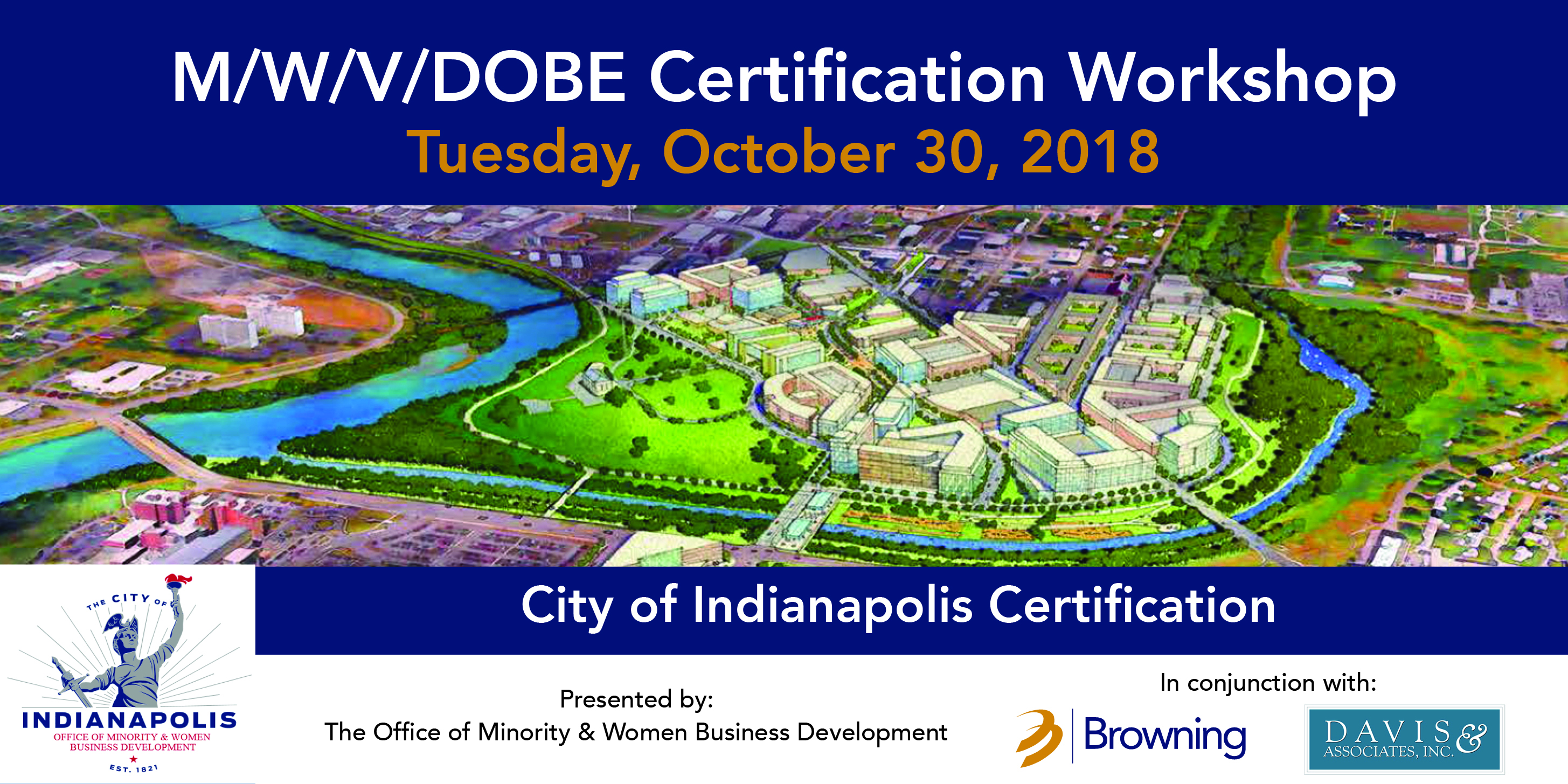 City Of Indianapolis Certification Workshop For Minority Woman