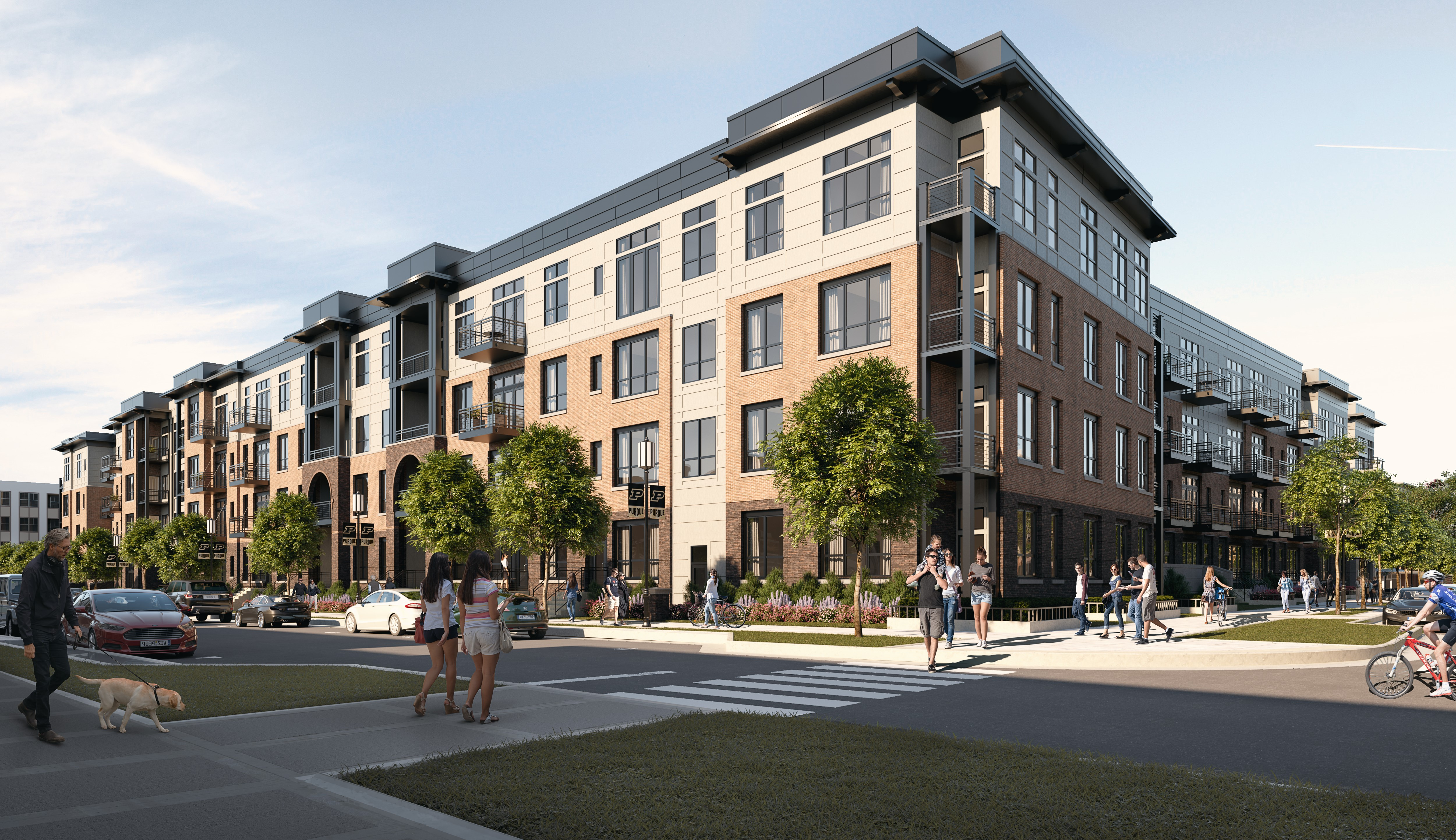 Browning and J.C. Hart officials announce mixed-use development at Discovery Park District