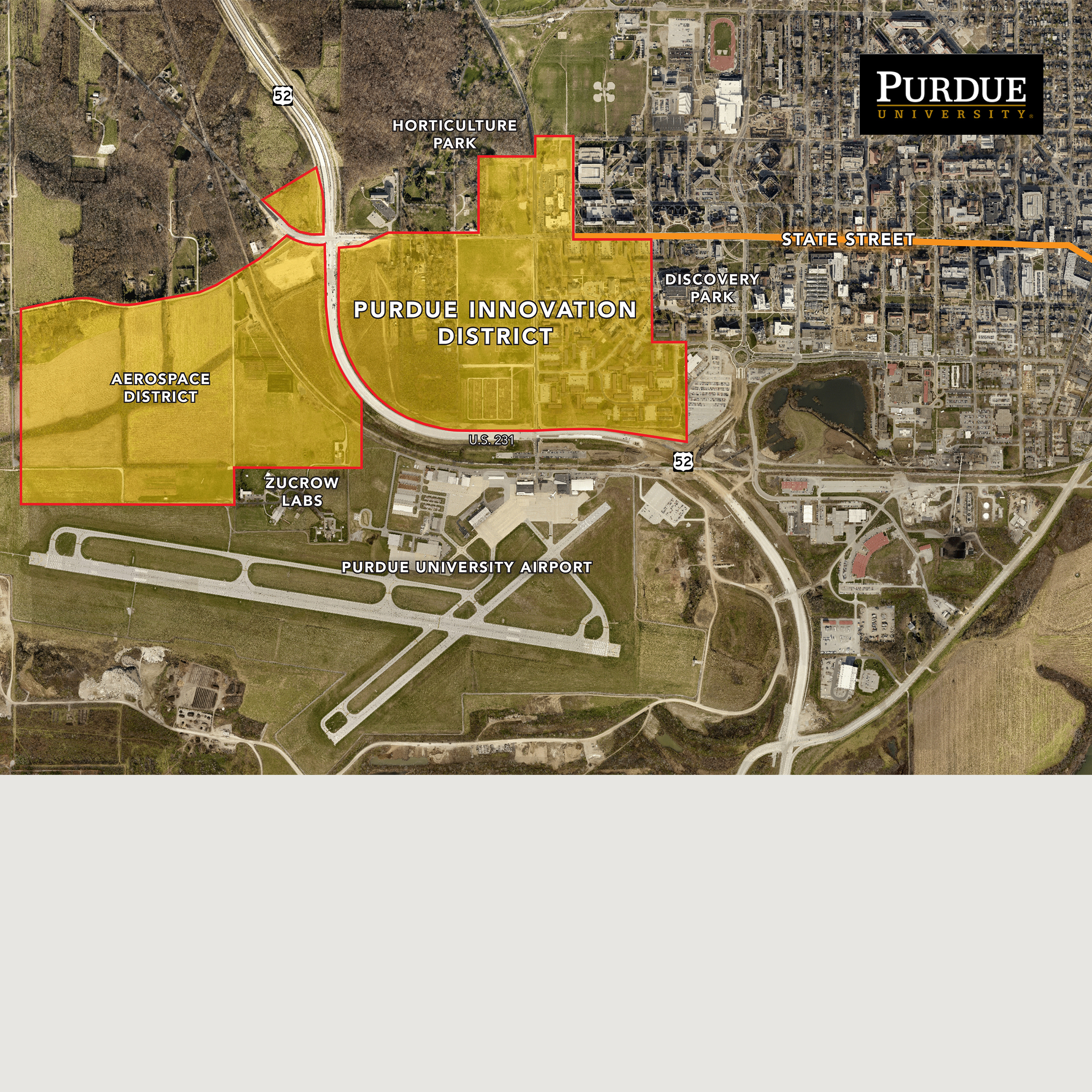 Purdue Innovation District, Master Planning