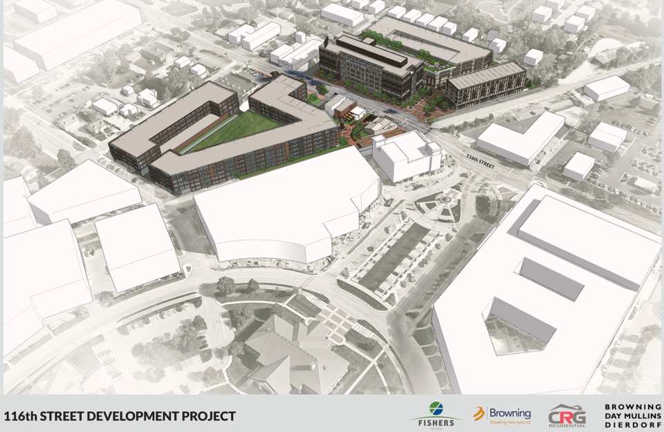Browning plans $157 million development in Downtown Fishers' Nickel Plate District