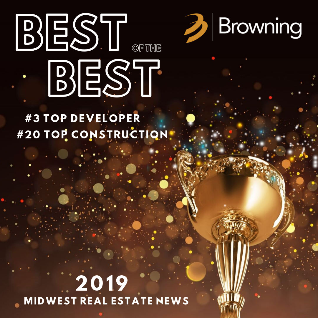 Browning ranked among Midwest's top three developers