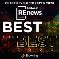 Browning ranked third among Midwest developers