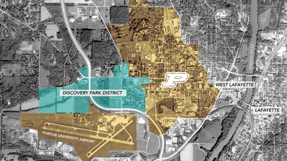 Thinking small? That's not in the plans for Browning's Discovery Park District development